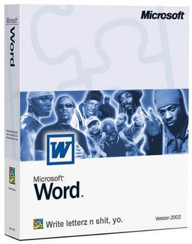 Word na sua mais nova edição especial: Gangsta   Edition